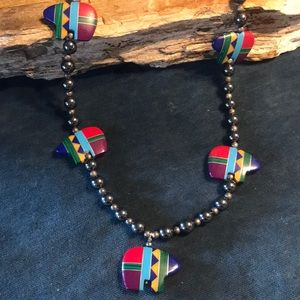 Jewelry - Native American Fetish Bear Necklace
